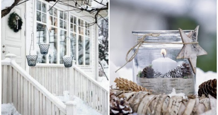 Natural outdoor winter decor... | TANYESHA