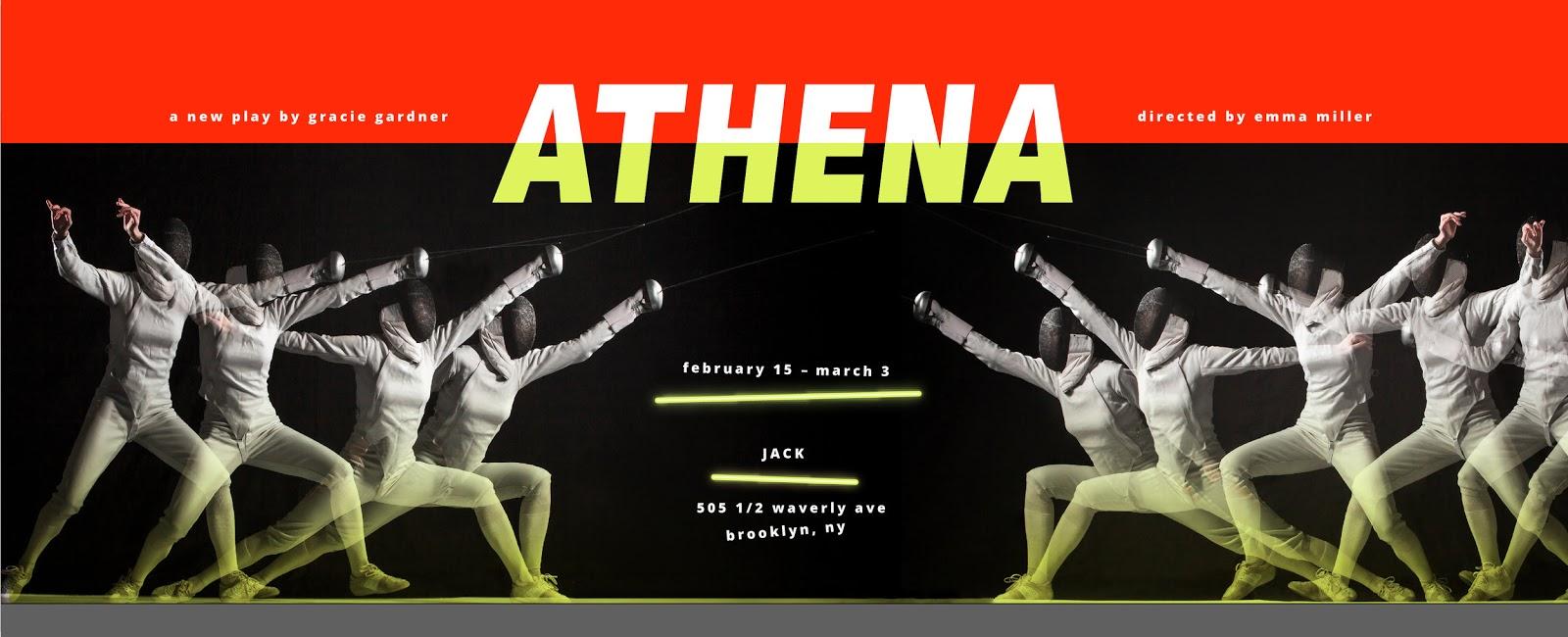 Charles Gershman Interviews Gracie Gardner On Her New Play Athena