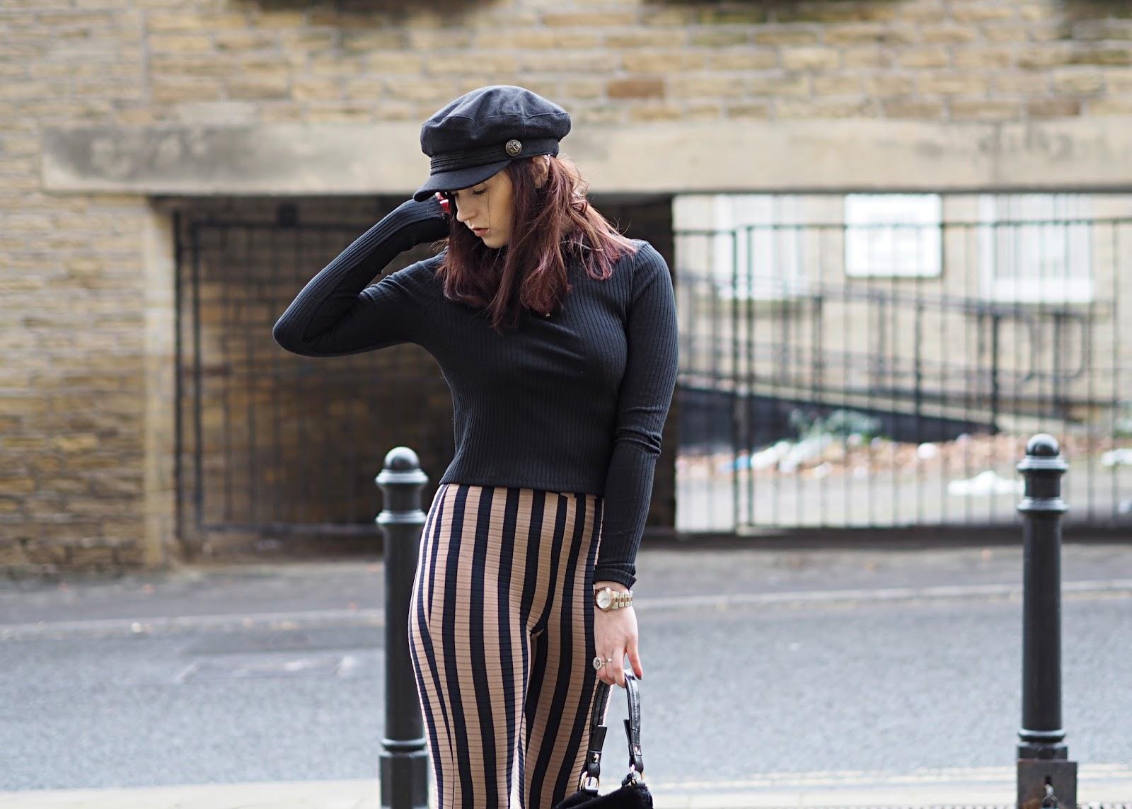 stripes ootd