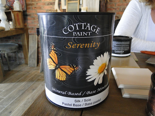 Chalky paint made in Canada- Serenity