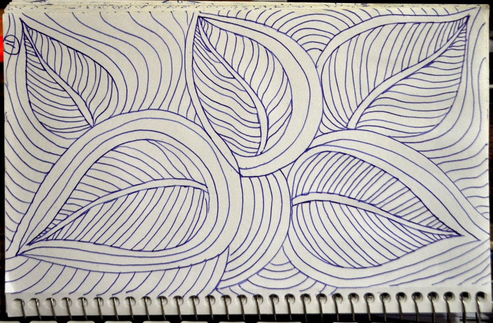 Drawing Lines For Quilting : Luann kessi sketch book botanical designs