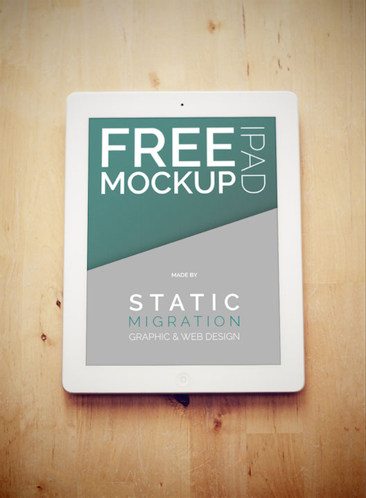 Free IPAD PSD Mockups