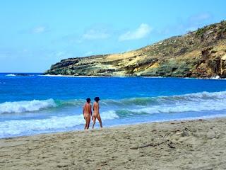 Beautiful Beach Anse de Grande Saline French Chic Saint Jean St Barts Caribbean Saint Barth St Barthelemy nude naked nudity boy girl man women
