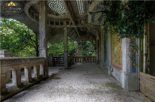 Manoir Colimaçon abandonado