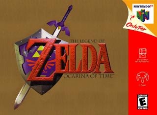 The Legend of Zelda Ocarina of Time ( BR ) [ N64 ]