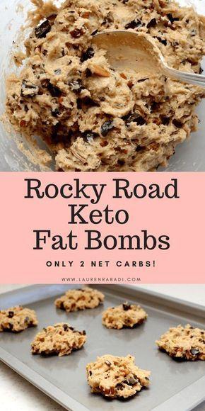 Rocky Road Keto Fat Bombs