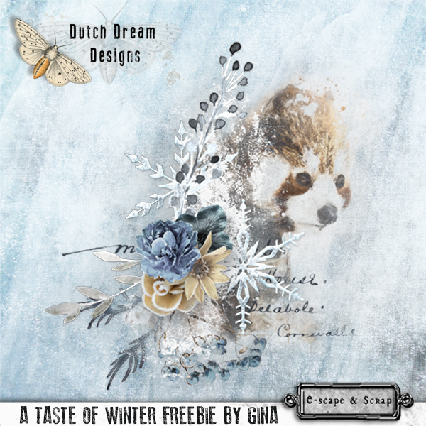 FREEbie ..... A TASTE OF WINTER by DUTCH DREAM DESIGNS