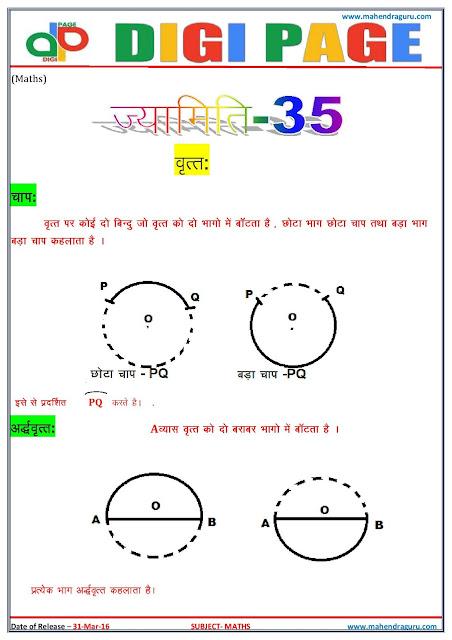 Digi Page - Maths - 31.03.2016