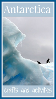 Antarctica crafts, activities and resources for toddlers