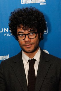 Richard Ayoade. Director of The Double