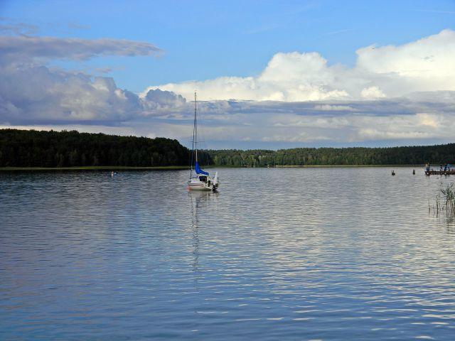 jezioro, sporty wodne, żagle, Niesulice