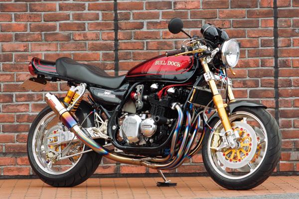 Racing Caf U00e8  Kawasaki Zephyr 750 No 003 By Bull Dock