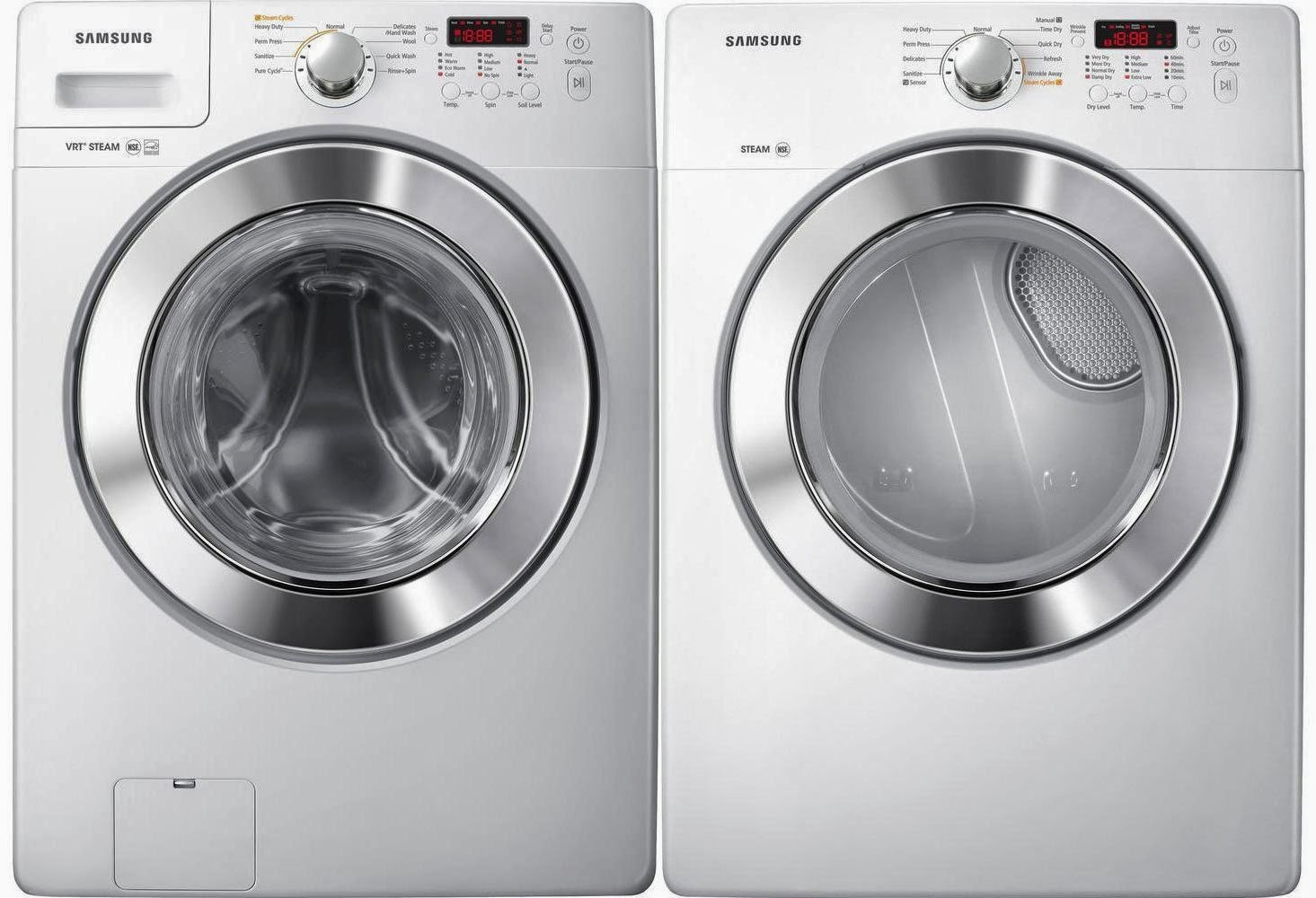 front load samsung washer and dryer sets