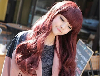 Rambut style kekinian, ombre yang tampak natural