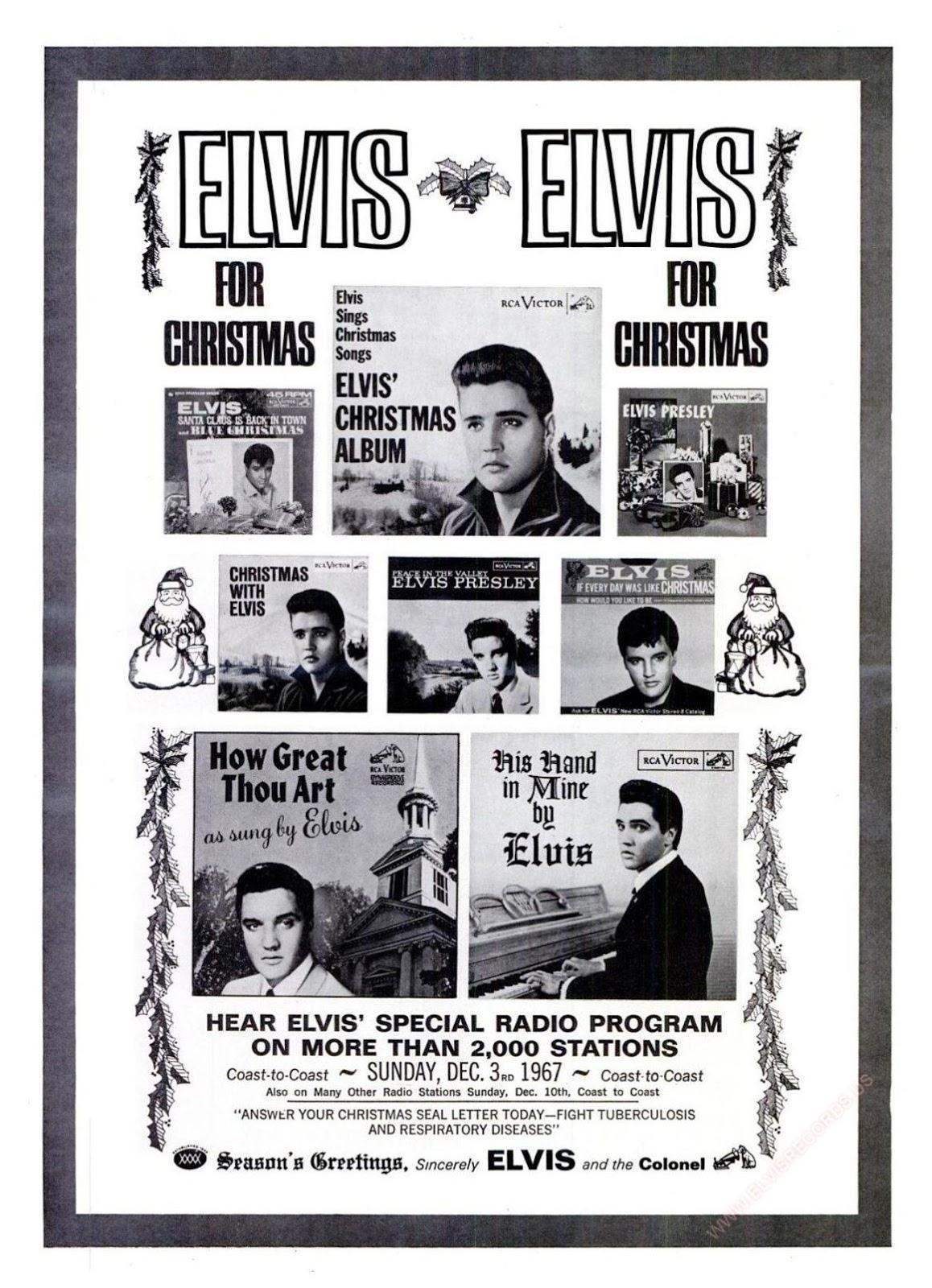 NIGEL GOODALL: Season\'s Greetings From Elvis