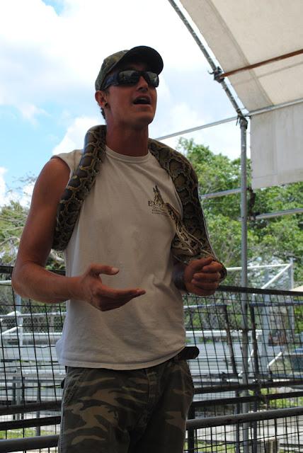 slangen show