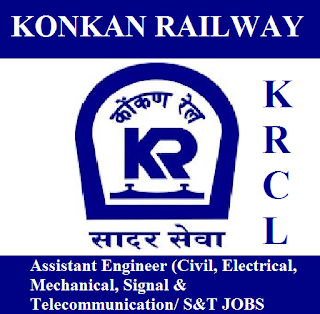 Konkan Railway Corporation Limited, KRCL, Assistant Engineer, Graduation, Maharashtra, freejobalert, Sarkari Naukri, Latest Jobs, krcl logo