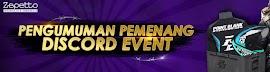 Ini Daftar Pemenang Event PB Zeppeto Discord