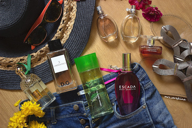 Мой летний парфюмерный гардероб
