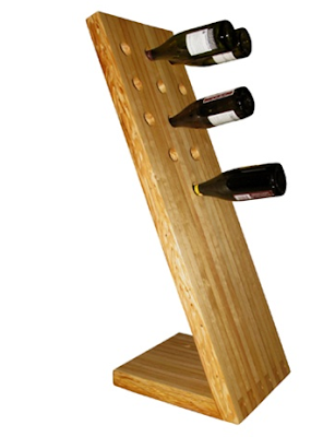 floor-standing wine rack
