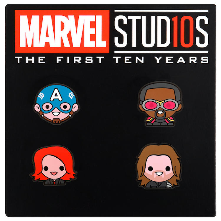The Blot Says Marvel Studios The First Ten Years Emoji Pin