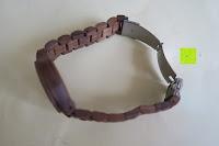 Verschluss öffnen: Holz Armbanduhr 360° Nut