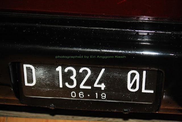 Akhirnya Terpasang juga Plat Nomor Baru di Mobil Great Corolla
