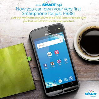 Smart MyPhone My28s Now Available In Smart Online Store