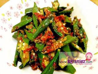 Resepi  Sayur | Bendi Goreng Berlada