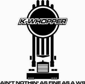 Kenworth Sanden Compressor: K-Whopper W9 Sticker Decal 4