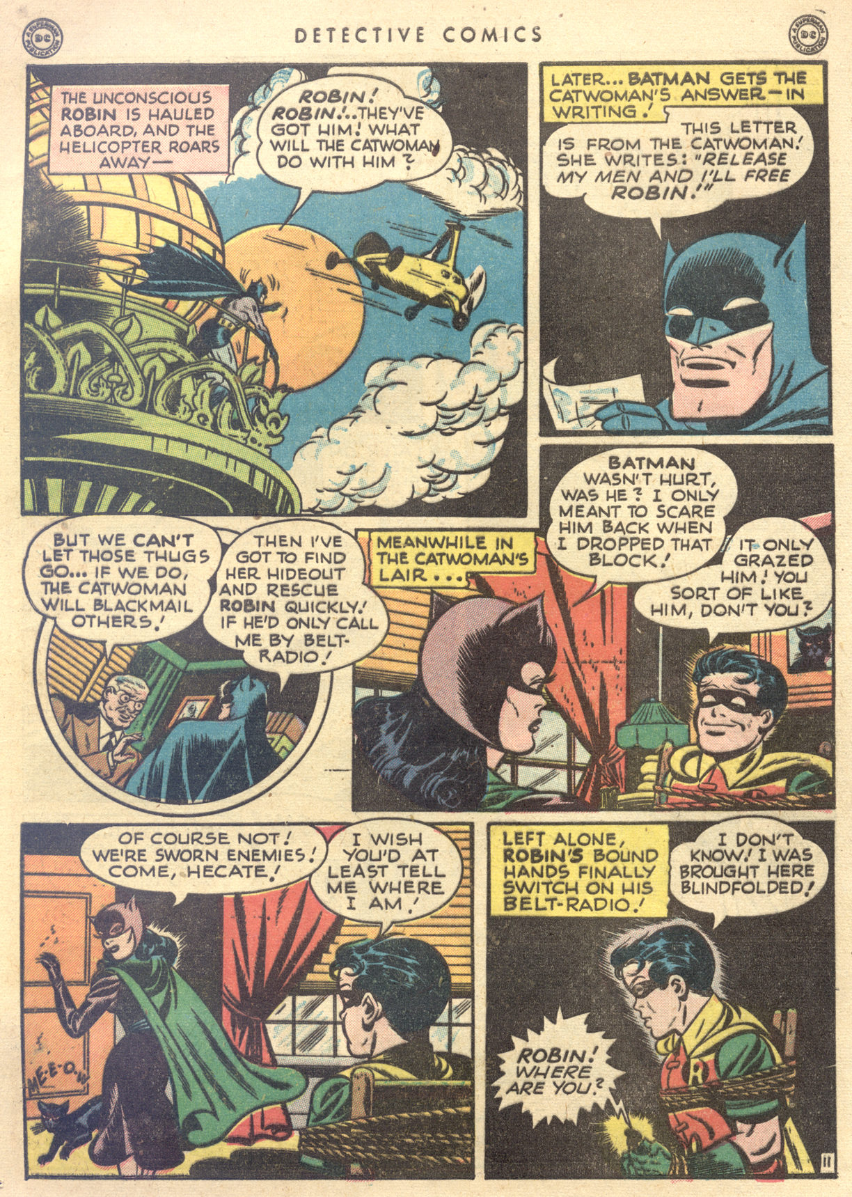 Read online Detective Comics (1937) comic -  Issue #122 - 13