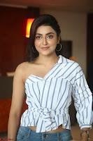 Avantika Mishra in One Shoulder Crop Top and Denim Jeggings ~  Exclusive 020.JPG