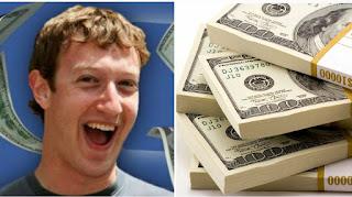 ما هي ٱرباح مؤسس الفيسبوك مارك زوكيربيرغ في العام ، الشهر ، اليوم ، الساعة ، الدقيقة و الثانية ....ٱرقام خيالية