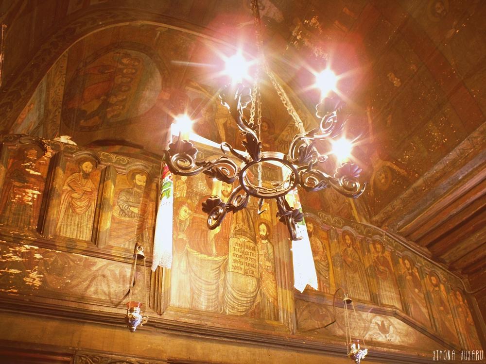 interior manastirea sfanta maria din techirghiol