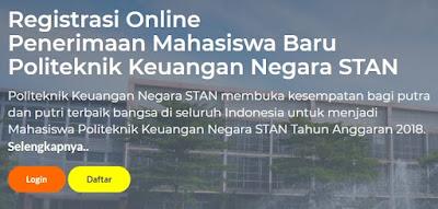 Persyaratan pendaftaran pkn stan ac