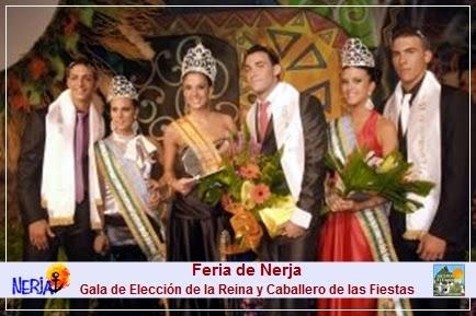 Elección de la Reina de las Fiestas y Caballero de Nerja