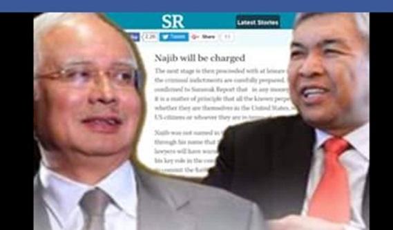 Beberapa Dokumen Seolah-olah Ingin Menyingkirkan Najib Di Tandatangani Zahid Hamidi Menjadi Viral