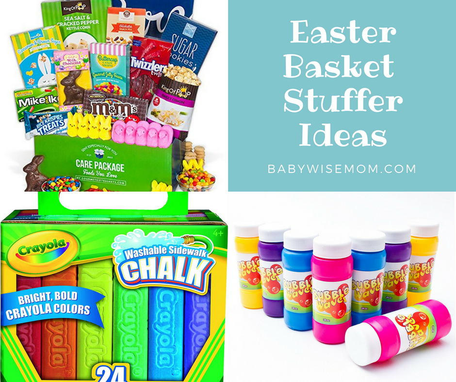 Easter basket stuffer ideas chronicles of a babywise mom the older my children get the more and more i deplore the idea of filling things like the easter basket with random cheap items negle
