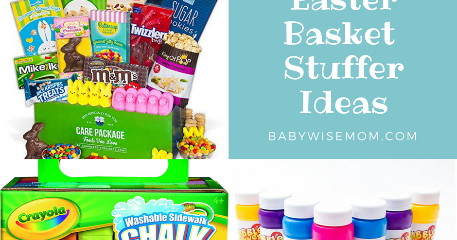 Easter basket stuffer ideas chronicles of a babywise mom negle Choice Image