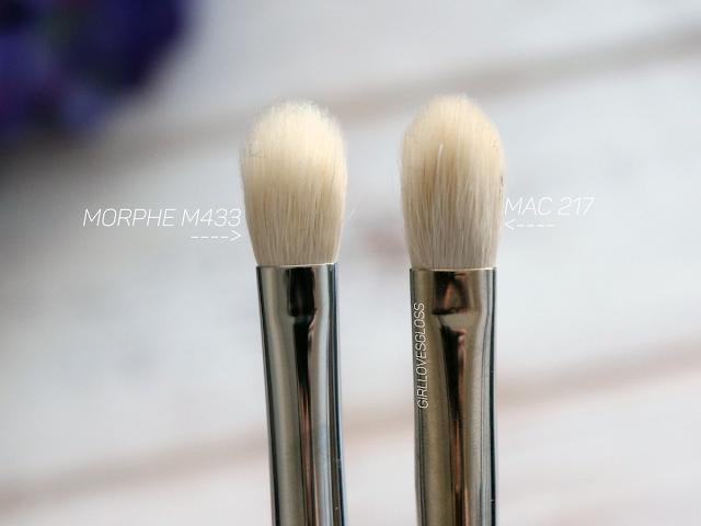 how to use mac 217 brush