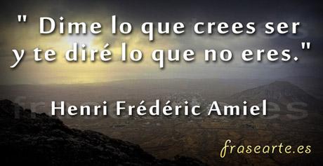 Citas ser y creer, Henri Frédéric Amiel