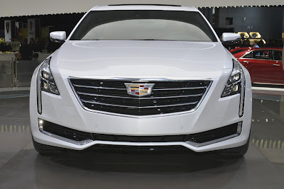 All New 2017 Cadillac CT6 Sedan front look image