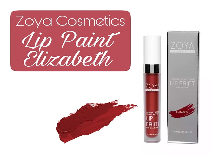 Review Zoya Cosmetics Lip Paint - Elizabeth