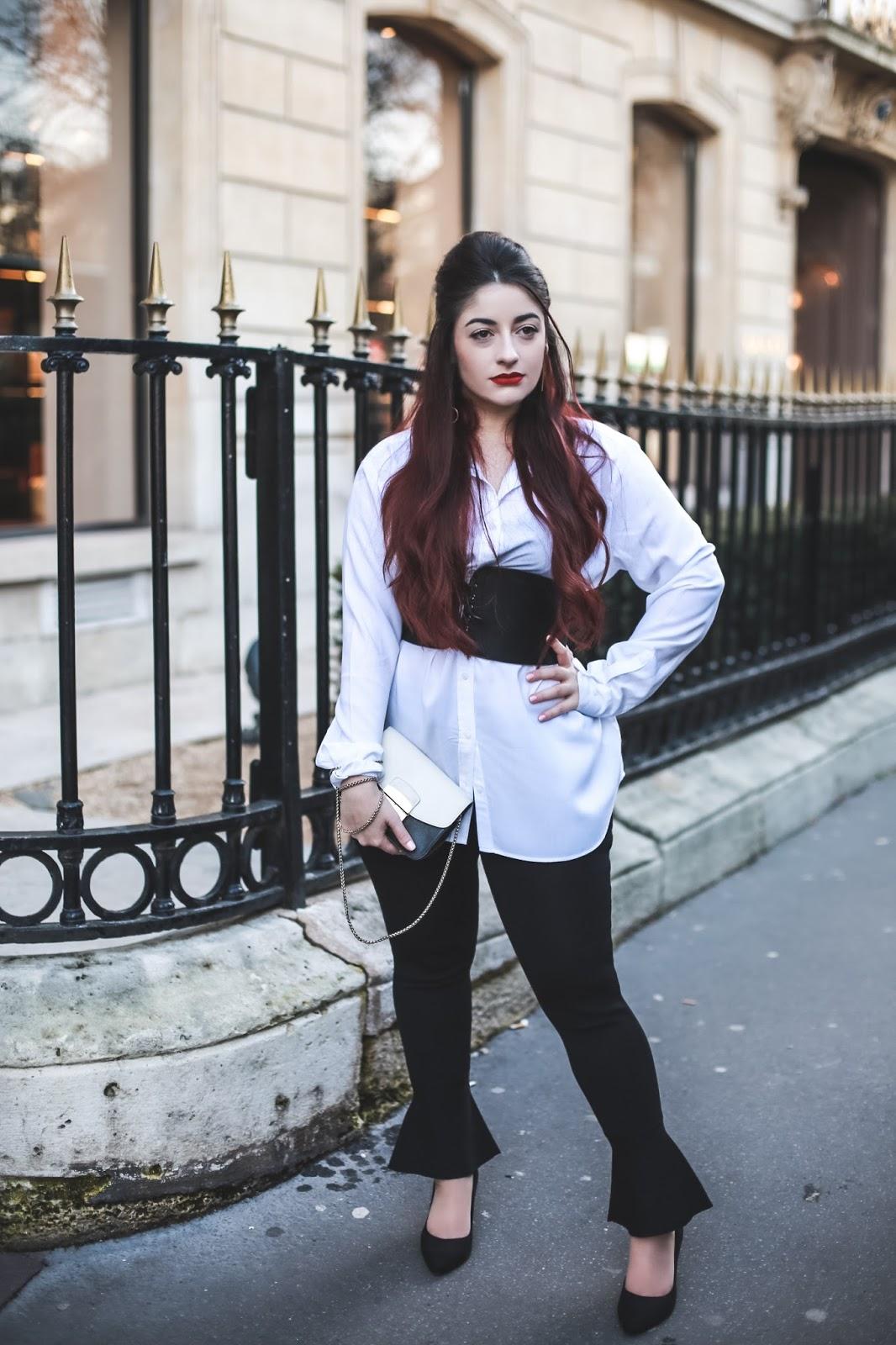 ceinture corset blog mode