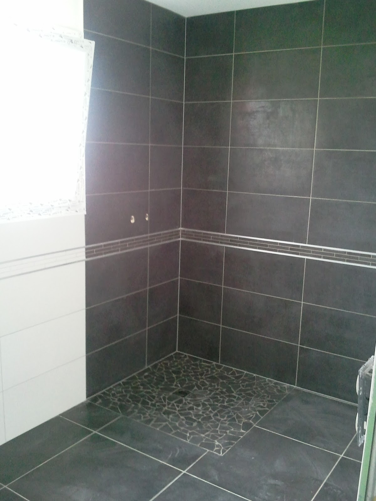 Bricolage de l 39 id e la r alisation douche l for Photo douche italienne carrelee