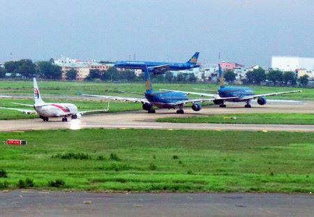 Đường băng sân bay Tân Sơn Nhất