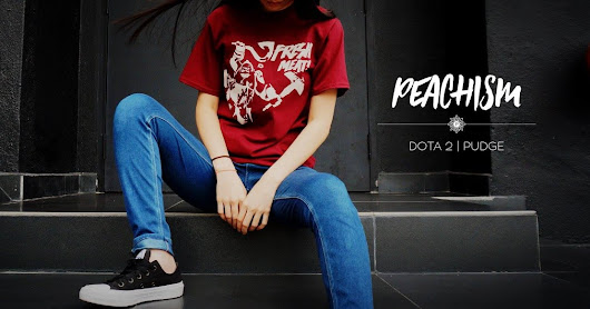 Introducing amazing Dota 2 designer T-shirts by Peachism