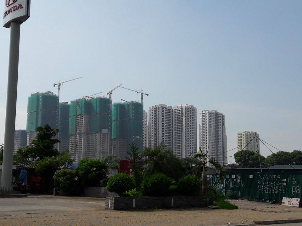 tiến độ goldmark city