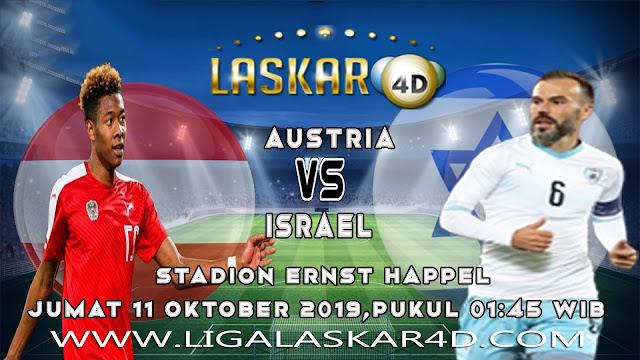 Prediksi Pertandingan Bola Austria Vs Israel 11 Oktober 2019