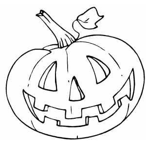 Jogo Desenhos de abóboras de Halloween para imprimir no